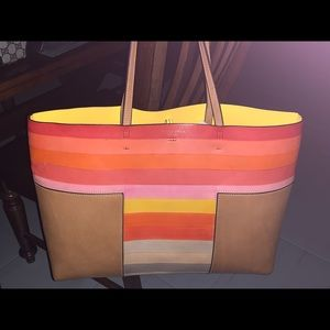 All Leather Tory Burch tote